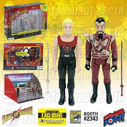 Flash-Gordon-Ming-Hawk-City-Scene-3-3-4-Inch-Action-Figure-Set-Convention-Exclusive